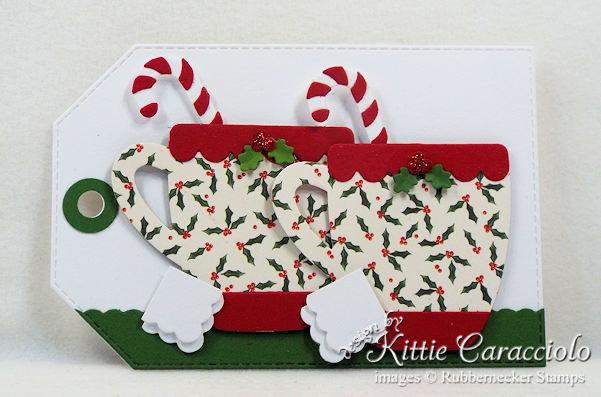 Come see how I made handmade Christmas tags.