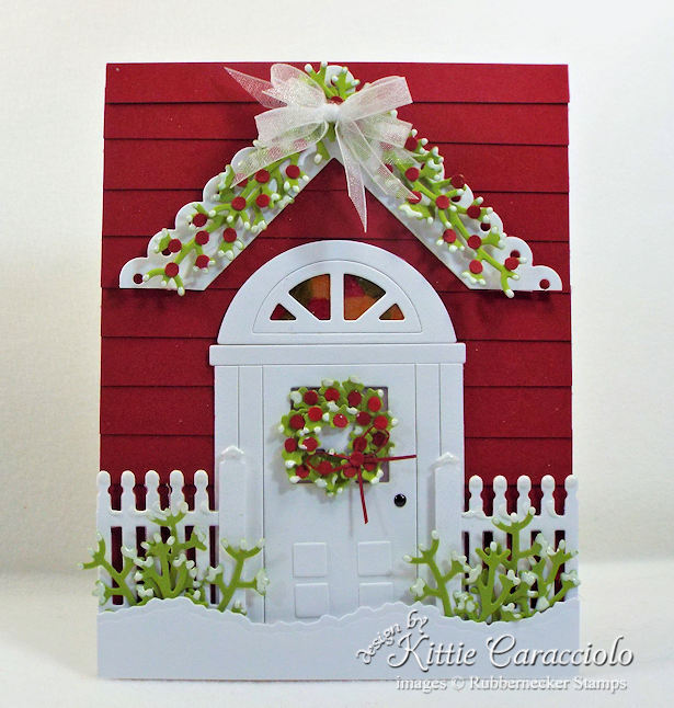 Rubbernecker Stamps Blog Come-see-how-I-made-this-welcoming-handmade-door-card-for-Christmas.