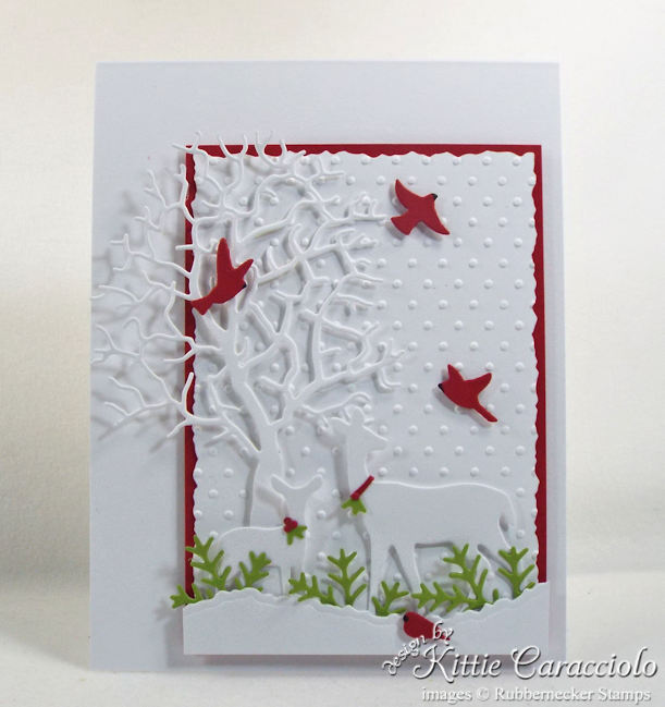 Christmas cards with deer are always popular.