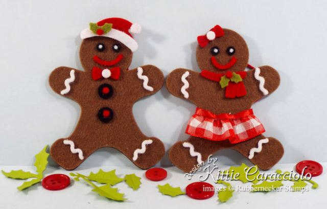 KC Rubbernecker 5178D Mr Mrs Gingerbread 2 duo