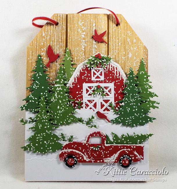 Red Truck Christmas Decor Kittie Kraft
