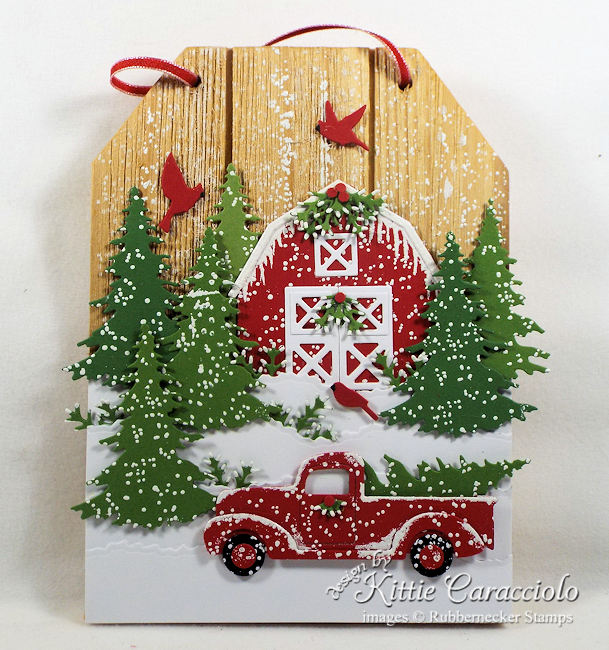 The little red truck is so on trend this year.  Come see how I created a piece of red truck Christmas decor to hang in my home this year.