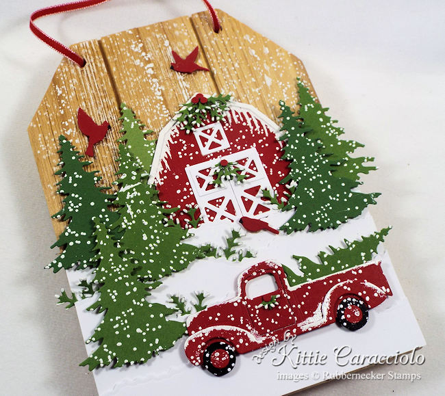 The little red truck is so on trend this year.  Come see how I created a piece of red truck Christmas decor to decorate my home this year.