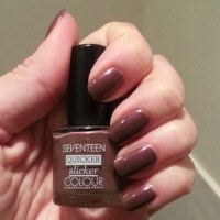 Seventeen Quicker Slicker Nail Polish