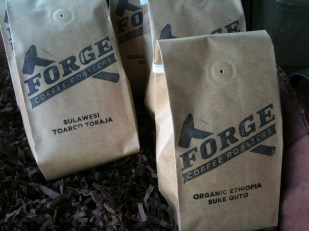 Forge Coffee Roasters Bags