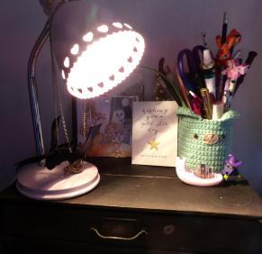 spare room deco lamp