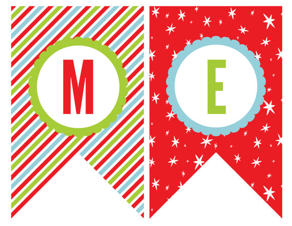 Rustic Merry Christmas Signs 44 Cool Banner Letters | Kittybabylove.com
