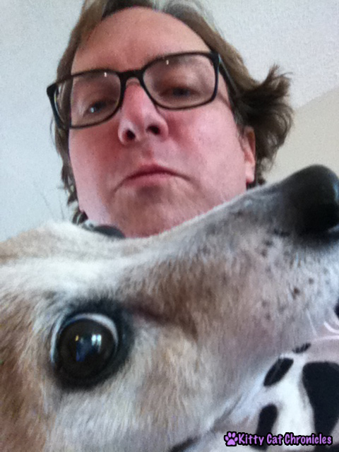 Lucy Selfie with Dad