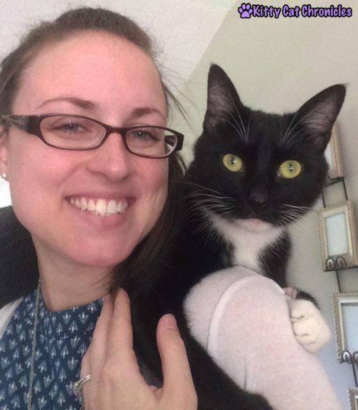 Sampson cat selfie - Sampy & Me