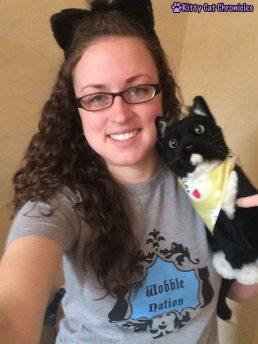 Sampy Clone Selfie - BlogPaws