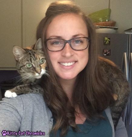 Flashback Friday: Once a Shoulder Kitty, Always Shoulder Kitty