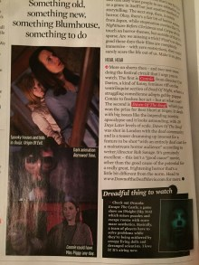 Connie featured in SFX Magazine, January 2017