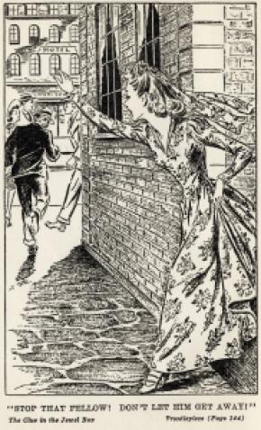 Illustration från den amerikanska utgåvan.