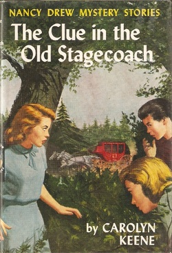 The clue in the old stagecoach - USA