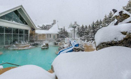 Snowshoe pool