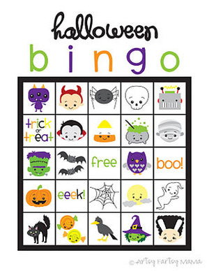 free halloween party games printables # 52