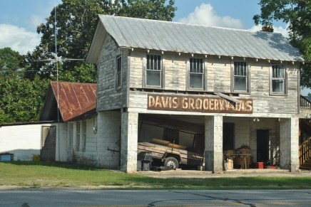 Davis groceries and gas