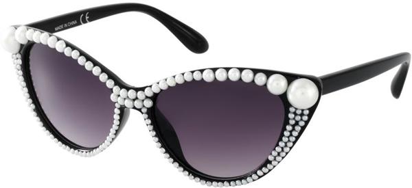 Очки с жемчугом - Солнцезащитные очки - тенденции модного декора 2013