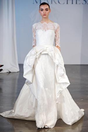 Подборка свадебных платьев от Marchesa - модная свадьба сезона весна 2013 - 17