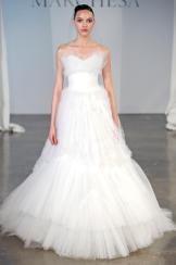 Подборка свадебных платьев от Marchesa - модная свадьба сезона весна 2013 - 18