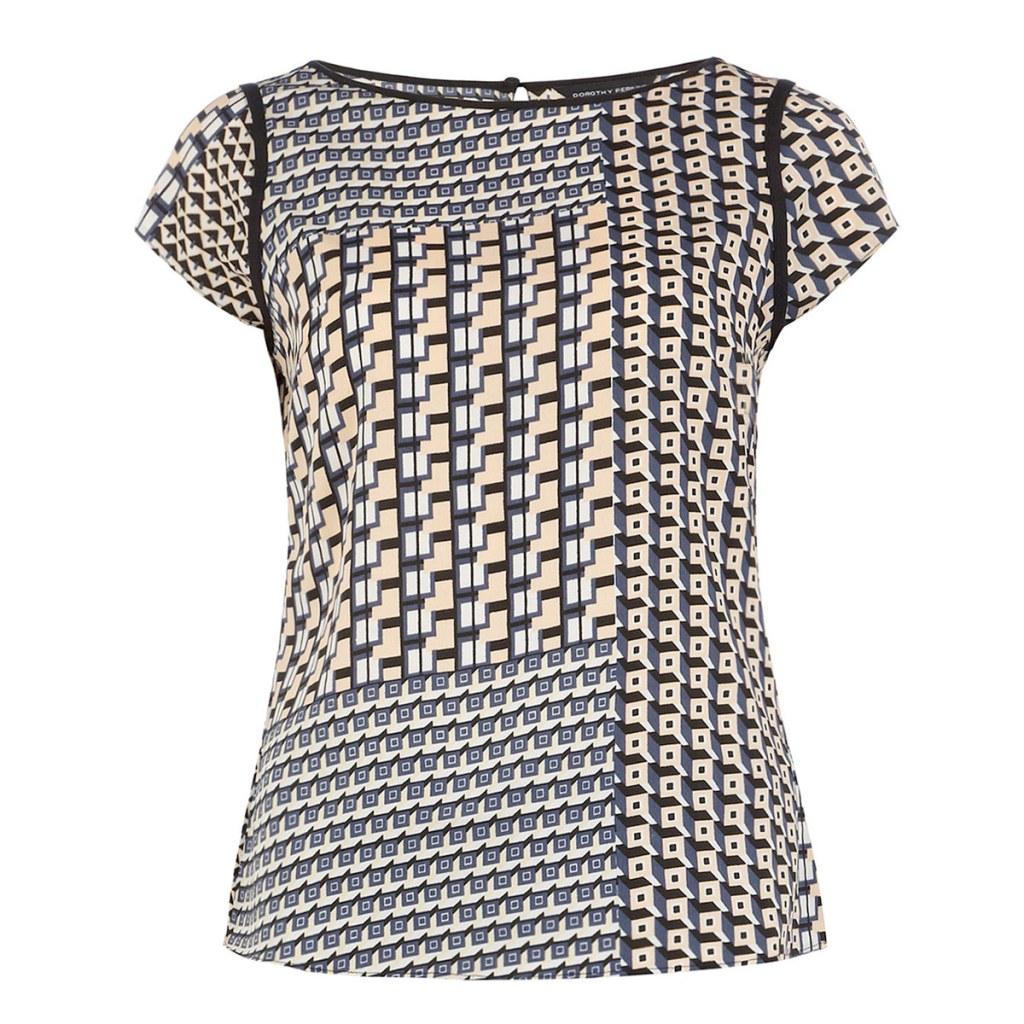 Весенняя тенденция 2013 лоскутная одежда и обувь - Блуза Dorothy Perkins