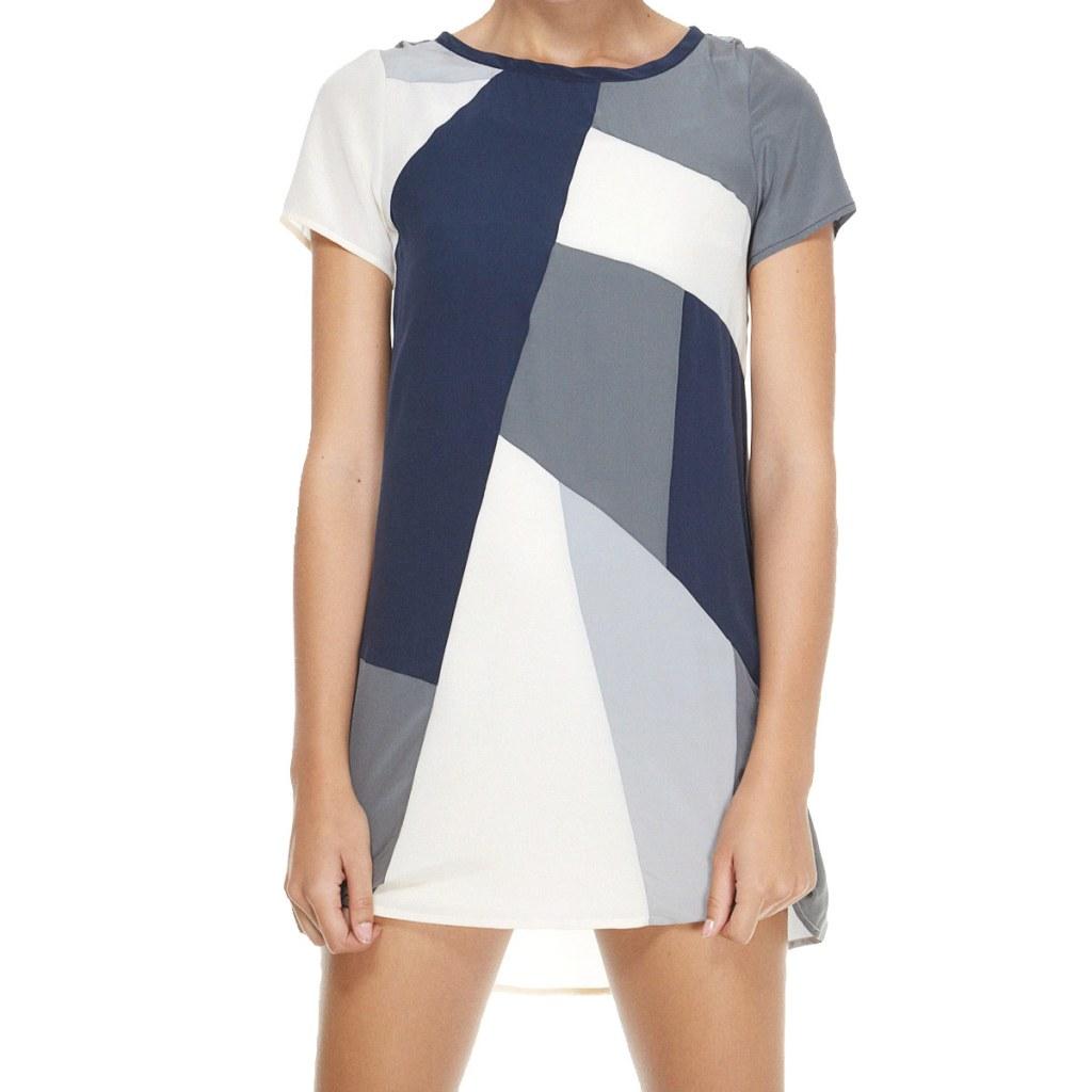 Весенняя тенденция 2013 лоскутная одежда и обувь - Платье Mark by Mark Jacobs