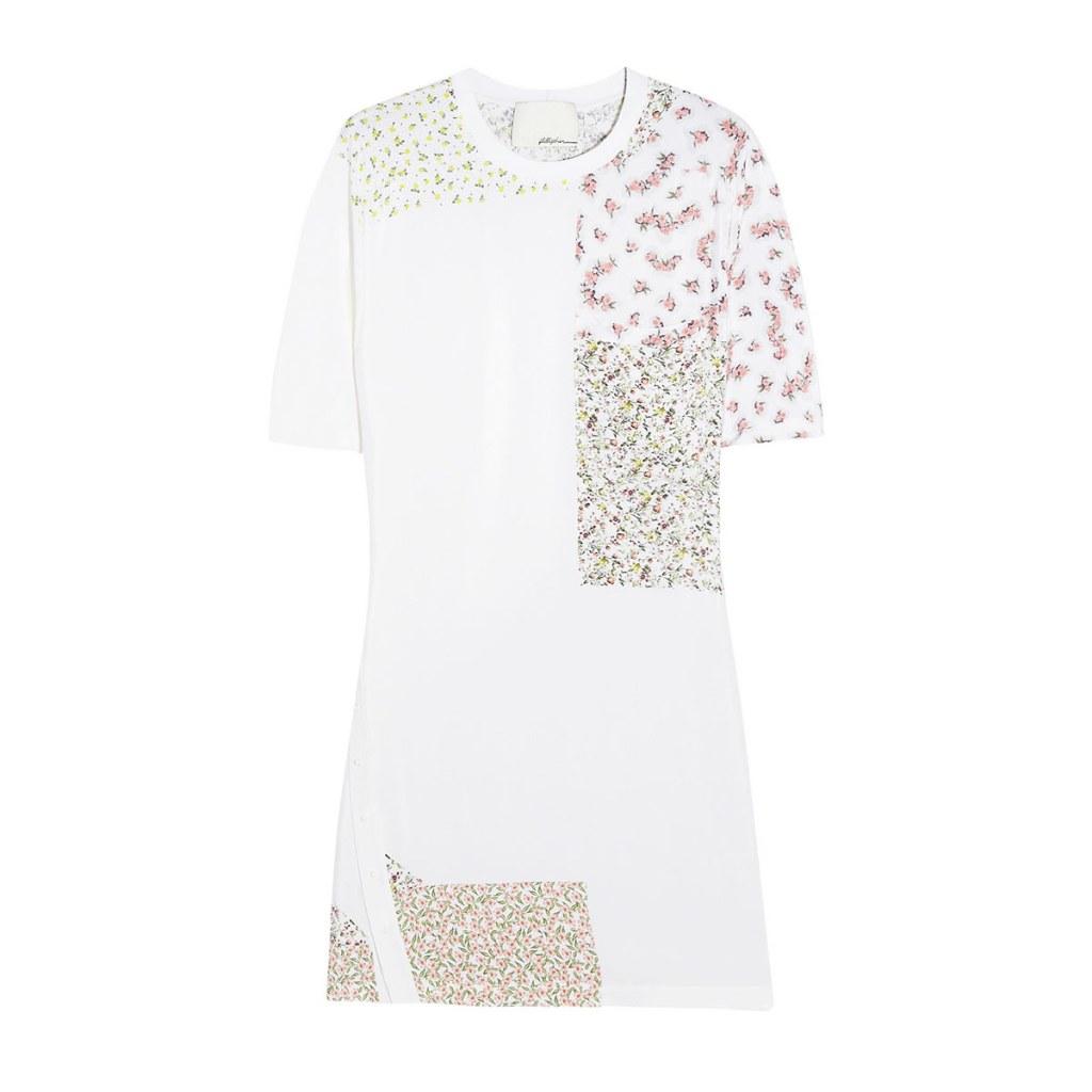 Весенняя тенденция 2013 лоскутная одежда и обувь - Платье из лоскутов