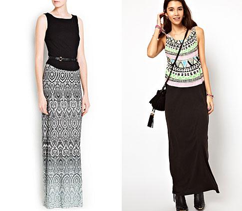 Макси платья на лето