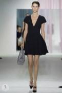 Тенденции летней женской одежды 2013 - модный чёрный цвет от Кристиана Диора 3