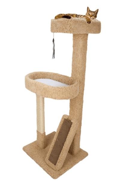 Whisker City Cat Tree : whisker, Whisker, City®, Lounge, Scratcher, Kittymews, Around, World