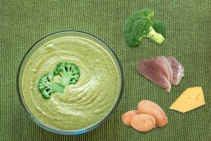 chicken-and-broccoli-puree