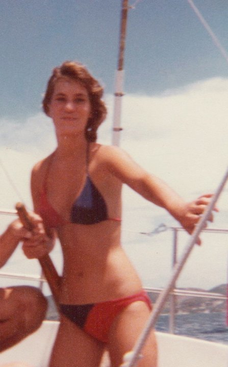 China Rose ~ Kaneohe Hawaii Yacht Club, learning to sail, age 18