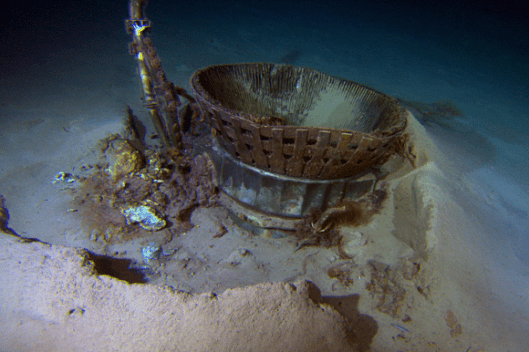Apollo 11 F-1 Engine recovered