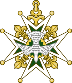 Cross of the Order of the Holy Spirit heraldry