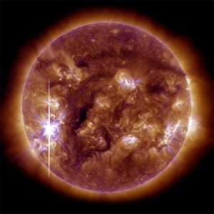 our Sun shifting poles