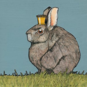 Hare and crown
