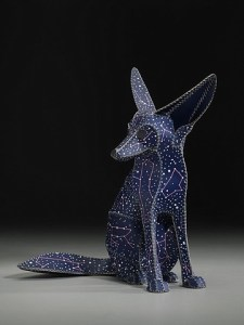 Fennec Fox (dog star) by Anne Lenmanski