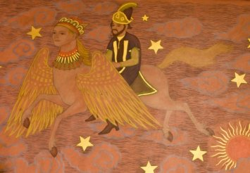 Star Flight | Ethel Spears WPA mural