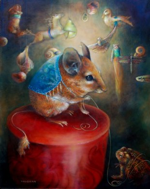 Rat World Stage by Wendy Vaughn