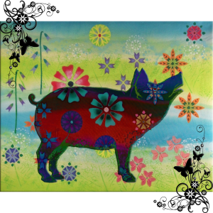 Pig Glow | by China Rose
