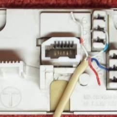 Wiring Diagram For Telephone Jack Lens Ray Applet Kitz - Bt Phone Sockets