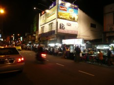 Nighttime food market, Penang