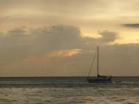 Calm seas for sunset.