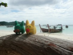 Calvin and Marshall LOVE Koh Lipe.