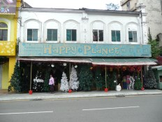 Store selling Christmas Trees, KL