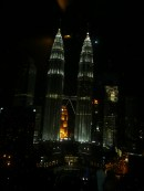 Petronas Towers, view from Sky Bar, KL