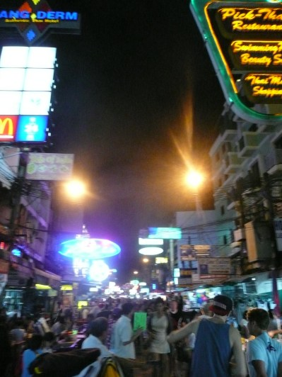 Khao San Road - possibly the most overwhelming experience.