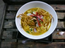 Completed Khao Soi