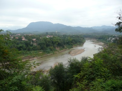 River that breaks off from the Mekong River
