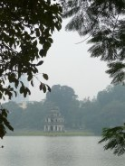 Temple in the lake